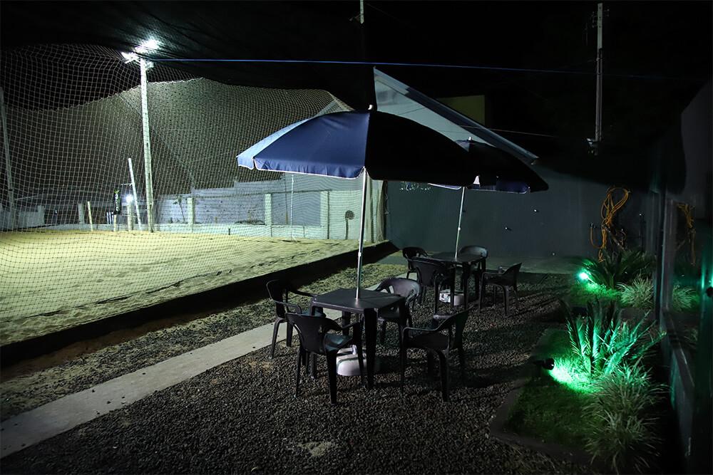 Área Externa, quadras e piscina | Academia Estação Sport Center
